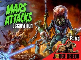 Mars Attacks Occupation Trading Cards