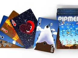 Pipmen: World Full Art Playing Cards