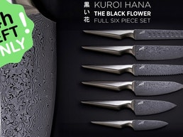 Kuroi Hana Japanese Knife Collection