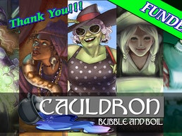 Cauldron: Bubble and Boil Tabletop Game