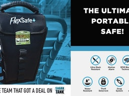 FlexSafe + : The Ultimate Portable Travel Safe