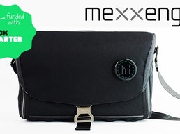 Mexxenger - high tech, modular messenger bag