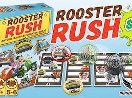 Rooster Rush Dexterity Game -Antoine Bauza & Corentin Lebrat