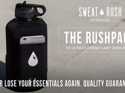 The Rushpack: The First Every Day Carry Water Bottle