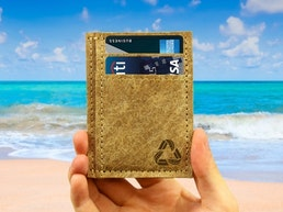 A Slim Wallet by the Green Banana Eco-Factory