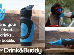 Drink&Buddy: Two beverages. One bottle! For best friends.