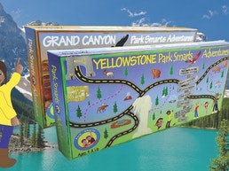 Park Smarts Adventures Board Games on National Parks