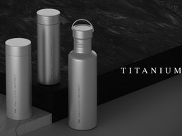 World's First Pure Titanium Thermos Vacuum Bottles
