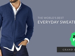The World's Best Everyday Sweater | By Grand Frank