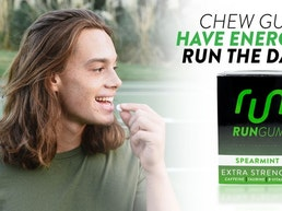 Run Gum Extra Strength Spearmint