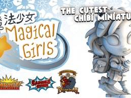 Chibi Capsule Magical Girls & Monsters