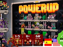 POWERUP the 16bit Board Game
