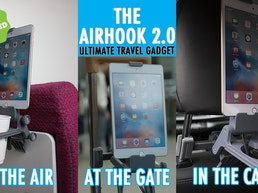 The Airhook 2.0 - Inflight & In Vehicle Travel Comfort