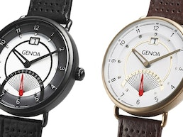 The Genoa — watches with a vintage scooter aesthetics