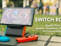 SwitchEcho: A Powerful Nintendo Switch Speaker Battery Stand
