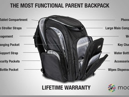 Moondo- The Most Functional Parent Backpack