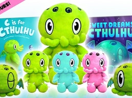 C is for Cthulhu Plushapalooza: New Baby Cthulhu Plush Toys