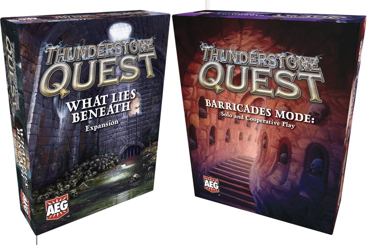 crowdox thunderstone quest back to the dungeon from aeg