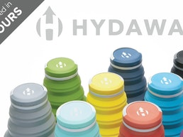 HYDAWAY. The world's most collapsible water bottle, reborn.