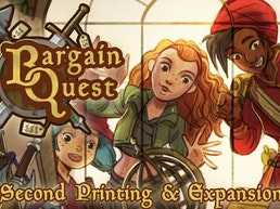 Bargain Quest Second Printing + The Black Market Expansion!