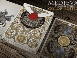 Medieval Playing Cards (Gold & Royal Editions)