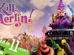 Kill Merlin! a new board game for 2-4 (awful) wizards