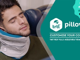 The First Fully Adjustable Travel Pillow - Trtl Pillow Plus