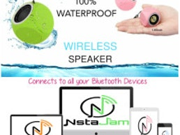 NstaJam-Crystal-Clear Wireless Waterproof Speaker
