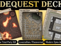 3 New Sidequest Decks: After the TPK; Modern; & Lovecraftian