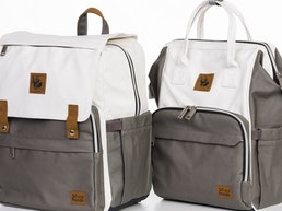 Sleepy Panda - Diaper bags, re-invented for modern parents