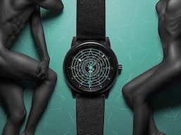 Gamma series — space-inspired watches with a luminous design