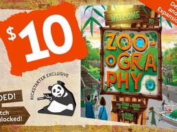 Zoo-ography : A Tile Laying Zoo Builder Game for 1-4 Players