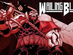 Wailing Blade #1: Bloody, Brutal Dark Fantasy Sci-Fi Comic