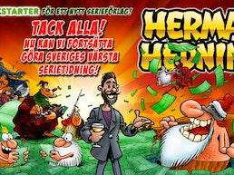 SERIEFÖRLAGET Herman Hedning!