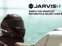 JARVISH: The Smartest Motorcycle Helmet Ever Made