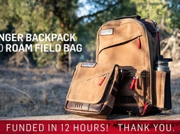 Ranger Backpack and Roam Field Bag from Ridgemont