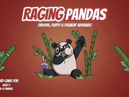 RAGING PANDAS: A Hilarious & Panda Approved Party Game