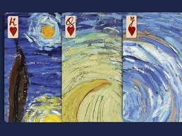 "Vincent van Gogh ""The Starry Night"" Playing Cards as Puzzle"