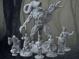H.P. Lovecraft, The Dreams in the Witch House Miniatures Set