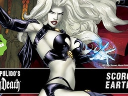 BRIAN PULIDO'S NEWEST: LADY DEATH: SCORCHED EARTH #1! SWORN!