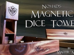 The Nomad's Magnetic Dice Tower - Master Monk