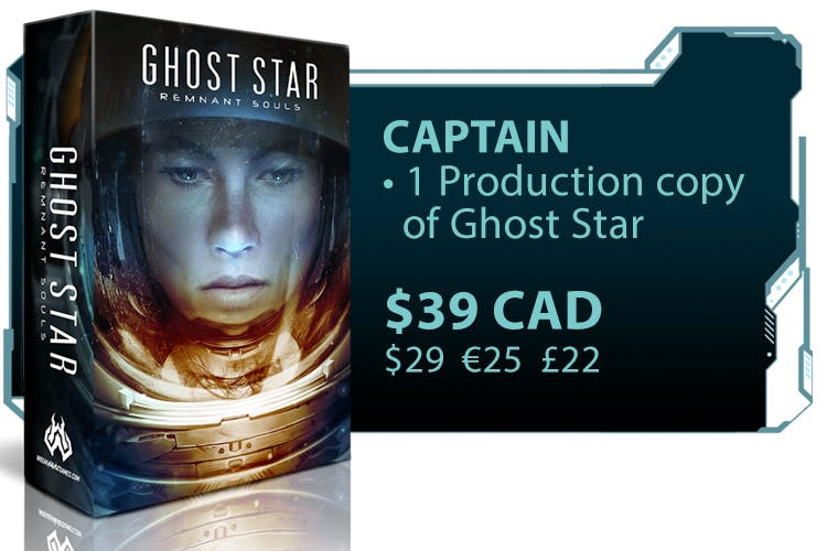 CrowdOx - Ghost Star - A solo board game you won't want to