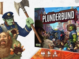 PLUNDERBUND, the Back Alley Business Board Game