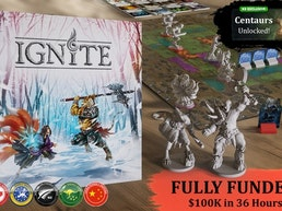 Ignite - Tabletop Miniatures Boardgame