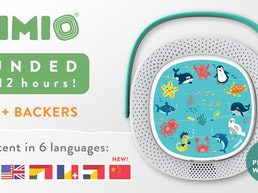 TIMIO - educational audio toy and music player for children