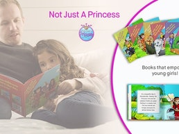 NOT JUST A PRINCESS - Empowering books for young readers