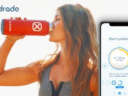 Hydrade | Solar-Powered Double Wall Smart Bottle!