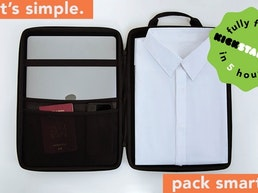 Garment Bags Re-Invented: Travel Like Never Before.