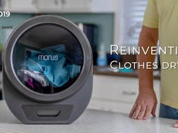 Morus Zero | Ultra-fast countertop tumble dryer for any home