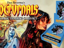 Dan Brereton's Nocturnals Wax Pack Trading Card Set